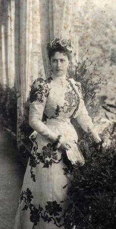 Grand Duchess Elizaveta Fyodorovna of Russia, 1890s