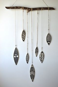 S H A M A N : handmade ceramic wall hanging by mbundy on Etsy