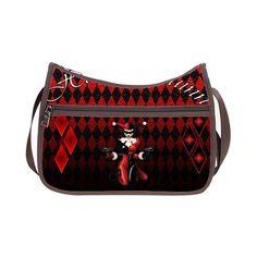 8e594b90d65087 Custom New Bag Design Harley Quinn Zipper Oxford Fabric Classic Hobo Handbag
