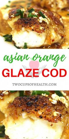 Add some oriental to the kitchen with this asian orange glaze cod. Add some oriental to the kitchen with this asian orange glaze cod. Looking for a fish recipe with an oriental twist? Fish Dishes, Seafood Dishes, Seafood Recipes, Gourmet Recipes, Cooking Recipes, Drink Recipes, Main Dishes, Asian Fish Recipes, Easy Fish Recipes