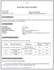 excel templates invitation schedule and certificate resume format for freshers engineers computer science aspturcom