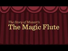 Mozart's 'Magic Flute': an animated plot summary (from Minnesota public radio) Elementary Music Lessons, The Magic Flute, Music Lesson Plans, Music Composers, Primary Music, Piano Teaching, Music Activities, Music For Kids, Music Classroom