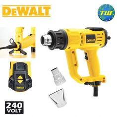 http://www.twwholesale.co.uk/product.php/section/10401/sn/DeWalt-D26414-GB DeWalt D26414 is a 240V 2000W heatgun with LCD display that allows for excellent temperature control along with and memory settings for consistent temperature requirements. The compact and lightweight corded tool has 2000 Watt power motor with an optimised cooling system.