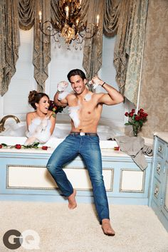 Eric Decker and Pregnant Jessie James Get Sexy in GQ—See the Couple's Romantic Pics! on Eric And Jessie | E! Online