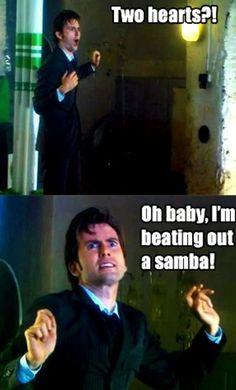 Haha!!! Tenth doctor!!