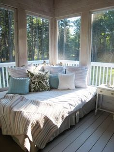 Napping Porch.  LOVE