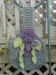 PDF Crochet Pattern for Victorian Romance Purse by Shelleden, $4.99