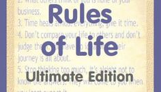 The 7 Rules of Life - Ultimate Edition by Fitness Matters