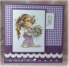 Wee Stamps Silver Fairy Card Topper