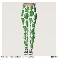 82d5519a08eba0 Watercolor Monstera Leaves  watercolor  tropical  plant  monstera  leaves   hawaii