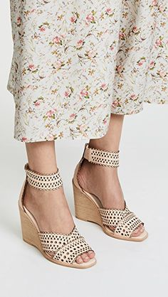 Jeffrey Campbell Besante Woven Wedges | SHOPBOP