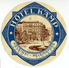 Hotel Kamp, Helsinki.  My favorite hotel of all time.