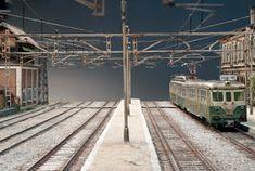 TrainScape: Diorama basado en Vadollano. 51 Diorama, Scenery, Rose, Model Train, Pink, Landscape, Dioramas, Paisajes, Roses
