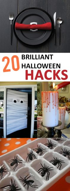 20 Brilliant Halloween Hacks That Will Change October for the Rest of Your Life #halloweencraftsdiydecorations