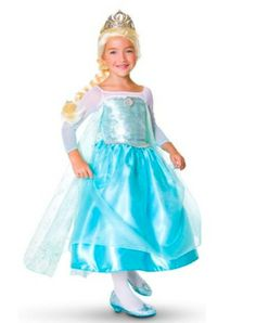 Elsa Frozen Costume yes it's a kids costume, but I can adapt for a running costume