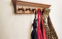 Use vintage doorknobs and salvaged trim to make a showpiece coatrack in less than two hours