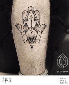 tattoo by Bicem – Sinik, Istanbul, Turkey | calf tattoos