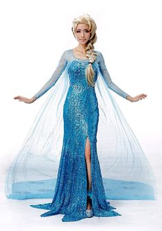 Frozen Princess Snow Queen Elsa Fancy Dress Cosplay by Frozendress, $149.99