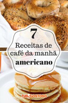 Surpreenda-se com as delícias de um típico café da manhã americano!