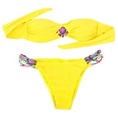 bold beaded bikini
