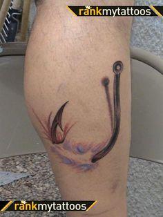 Fishing Hook Tattoo Sports