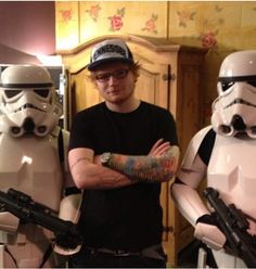 Awesome!!!! Ed and Stormtroopers. :D