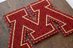 Minnesota gophers string art   Minnesota, gophers, string art, wood sign, handmade, college, sports, university, gophers logo, u of m,