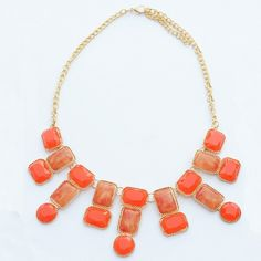 wear this Orange Neck pieceChoker to Dress up in Style and add a wow factor to your Attitude.http://bit.ly/1qKV6sz
