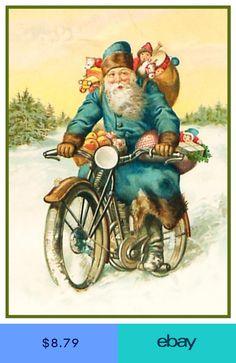 Motorcycle Usa, Christmas Post Cards 2020, Santa And Motorcyle 500+ SANTA'S CYCLE images in 2020 | santa, motorcycle christmas