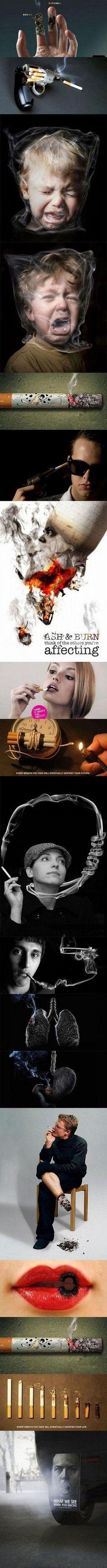 18 no smoking public service advertisings