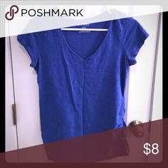 Old navy maternity top Pretty royal blue color great casual top Old Navy Tops Tees - Short Sleeve