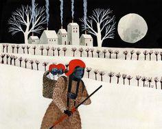 Carson Ellis, In Between Insomnia and Scandinavia