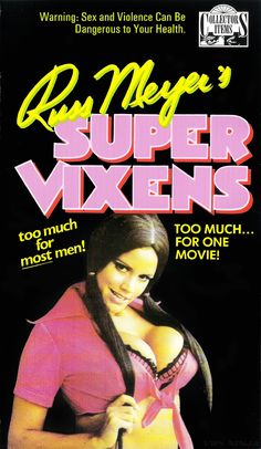 Supervixens by Russ Meyer. Good Girl, Cinema Posters, Film Posters, Russ Mayer, World Tv, Cult Movies, 18 Movies, Thing 1, Film Director