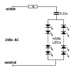 Led lamp circuit circuitdiagram pinterest led by collin mitchell 30 led projects ccuart