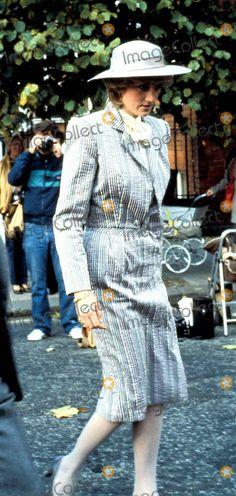 October 28, 1983: Princess Diana attending the wedding of former flatmate, Ann Bolton to Noel Hill at the St. Simon Zelotes Church, Knightsbridge.Photo: Jim Bennett / Alpha / Globe Photos Inc Princessdianaretro