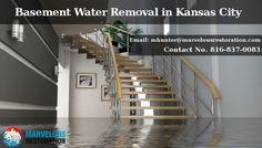 #MarvelousRestoration help 24 hours basement #waterremoval in kansas city.