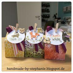 handmade-by-stephanie: Schachteln, Ombre Look und Thankful Forest Friends...