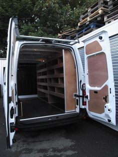 Vauxhall Movano Fleet Van Conversion