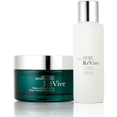 ReVive Glycolic Renewal Peel System ($295) ❤ liked on Polyvore featuring beauty products, skincare, face care, face cleansers and moisturizing face wash