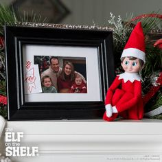Family Portrait Addition! | Elf on the Shelf Ideas
