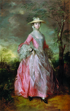 Mary, Countess of Howe   Thomas Gainsborough, c. 1764