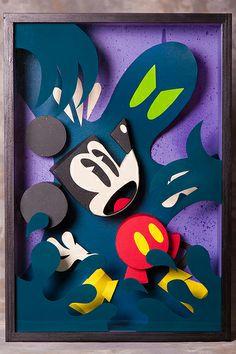 Arch Enemies by Custom Paper Toys, via Flickr