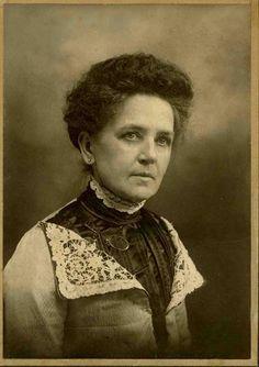 First woman Lighthouse keeper-Georgia Stebbins. North Point Lighthouse, Milwaukee, WI