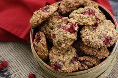 girlichef: Cranberry, Maple, & Oatmeal Cookies {#12WksXmasTreats}