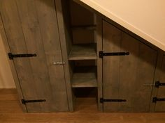 1000 images about kast on pinterest pantry hidden doors and pantry doors - Muur hutch ...