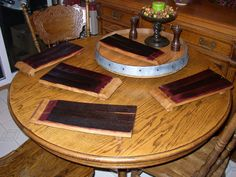 Hey, I found this really awesome Etsy listing at https://www.etsy.com/listing/113866497/wine-barrel-stave-cheese-tray