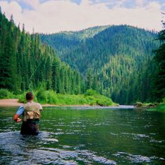 Fly fishing the St. Joe river in Northern Idaho!