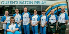 Queen Baton Relay on 22nd June 2014 #BatonRelay #Glasgow2014