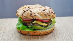 "Vegetarian ""Beef"" Burger | Azuki beans veggie burgers or the best burgers ever!!!"