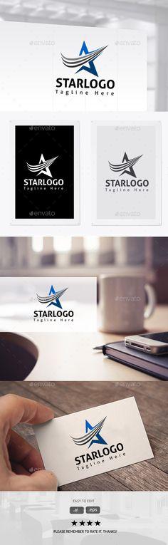 Star Brand Logo Template Vector EPS, AI. Download here: http://graphicriver.net/item/star-brand/11381845?ref=ksioks